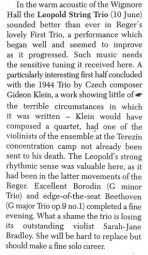 Review, 1999, The Strad