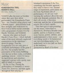 Review, 2002, Edinburgh Herald