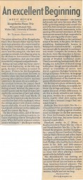 Review, 2003, National Post