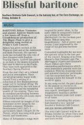 Review, 2004, Newbury Weekly News