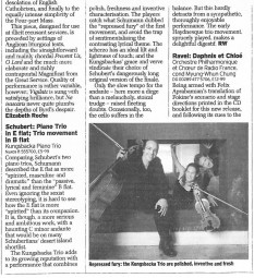 Review, 2006, The Daily Telegraph
