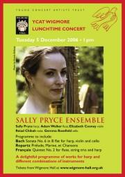 Flyer, 2006, Wigmore Hall