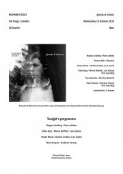 Programme, 2014, CD launch, p1
