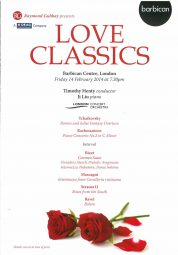 Programme, 2014, Classic FM at the Barbican