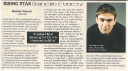 Rising Star Feature, 2013, BBC Music Magazine